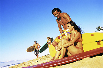 Знакомство на пляже история