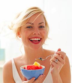 завтрак фрукты