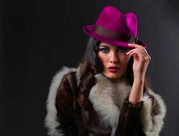 девушка, шуба, шляпа, модель, дубленка, мех