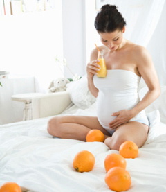 Как ухаживать за телом будущим мамам?
