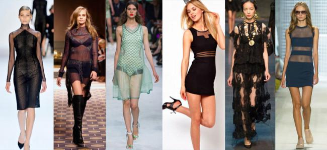 В таком платье, если оно будет еще и черного цвета, без внимания не останется ни одна девушка