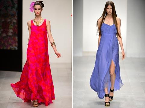 Как вы можете видеть, дизайнеры предложили нам огромное разнообразие модных сарафанах в весенне-летний сезон в 2014 году. Красивые и удобные, они могут быть