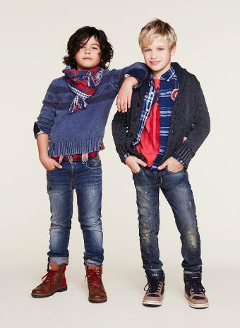 Коллекция Tommy Hilfiger Kids - Детская мода осень-зима 2014-2015
