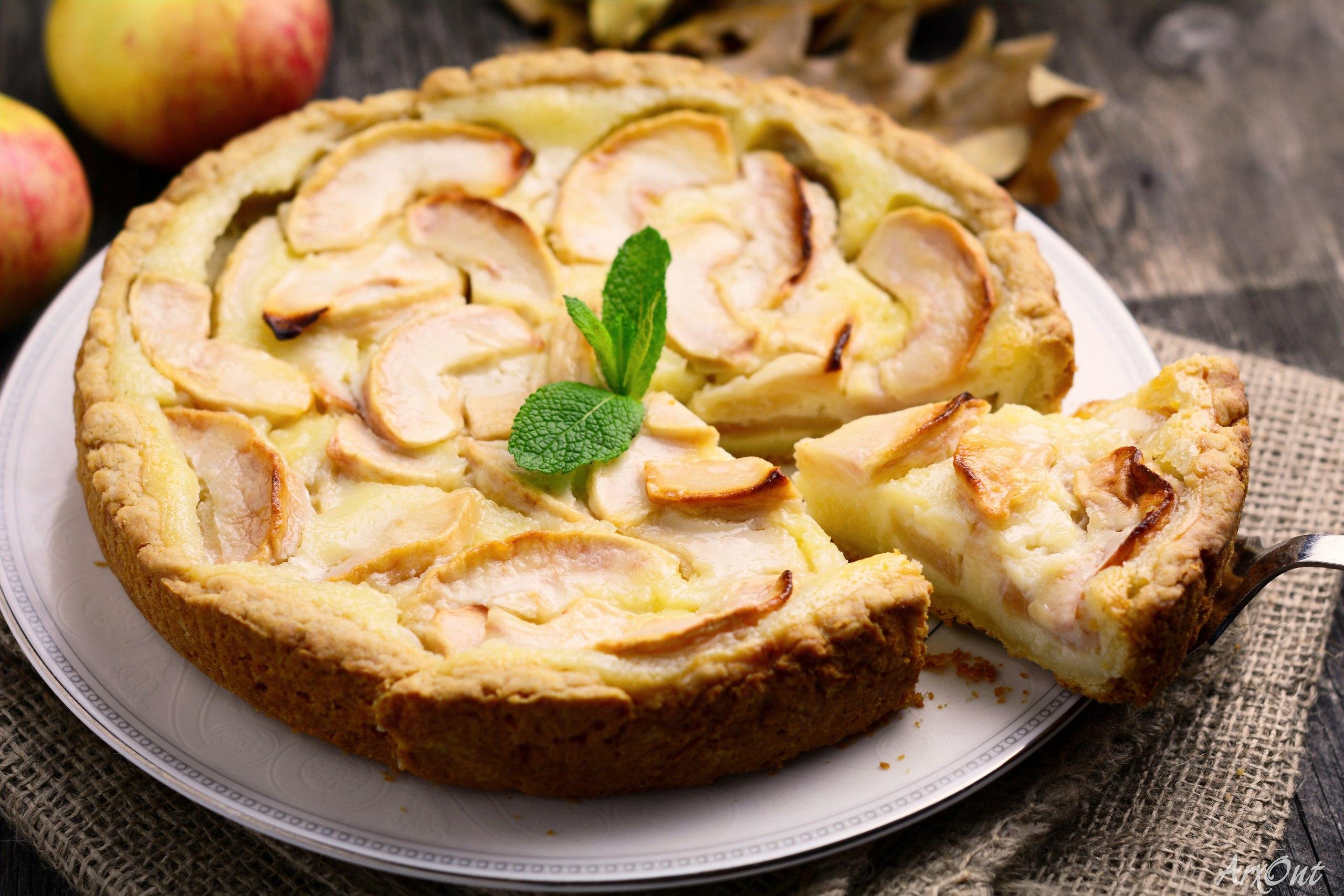 Рецепты цветаевского пирога с яблоками пошагово