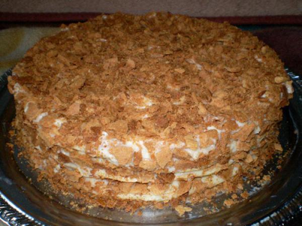 медовый торт рецепт с фото - Торт.