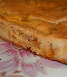 тесто, пирог, начинка, капуста