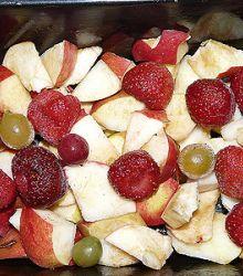 пирог, начинка, фрукты, ягоды