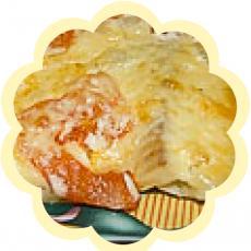 рыба, запеченая под сыром