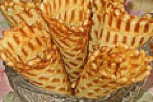 Вафельные трубочки - рецепт