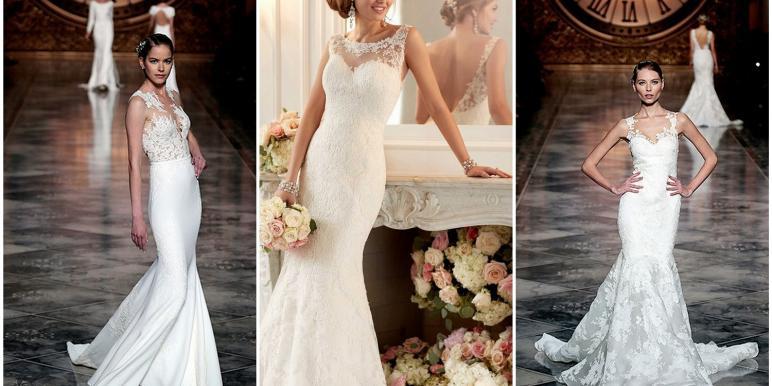Свадебные платья 2016 - модные модели и тенденции, фото