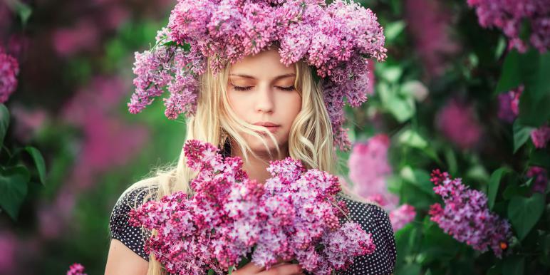 """Результаты фотоконкурса """"Девушка в цветах"""""""