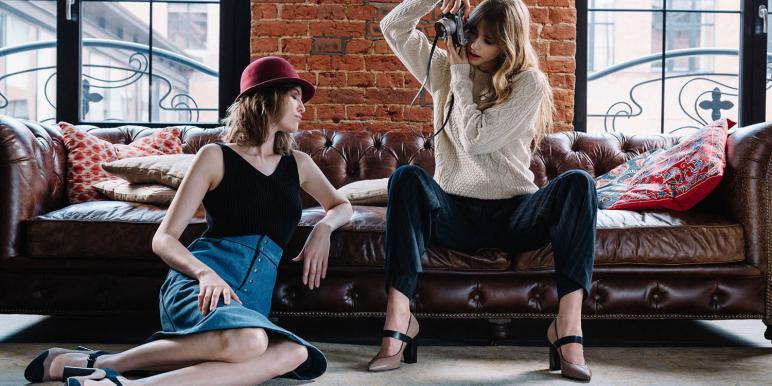 Британский стиль в коллекции обувь «Эконика» осень-зима 2016/17