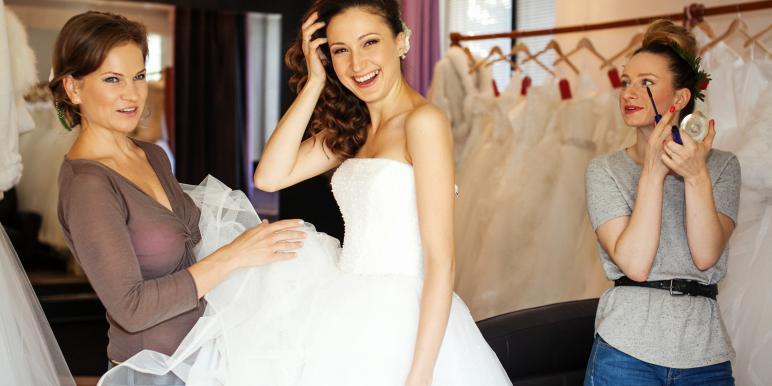 Платье, с которого начинается свадьба...