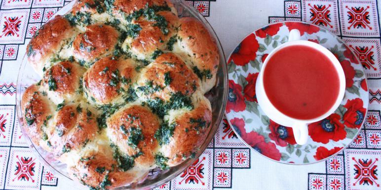 Блюда украинской кухни