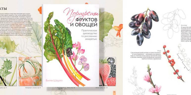 Рецензия на книгу Билли Шоуэлл «Портреты фруктов и овощей»
