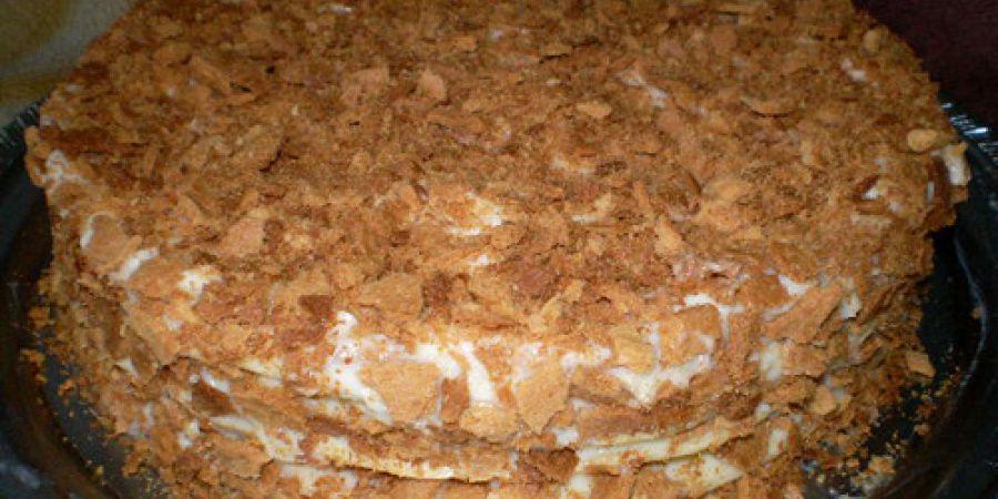 Приготовления торта наполеон в домашних условиях