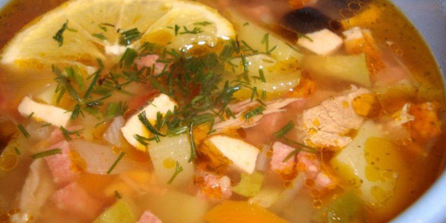 Суп с соленой семгой рецепт