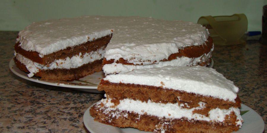 Торт негр рецепт з фото