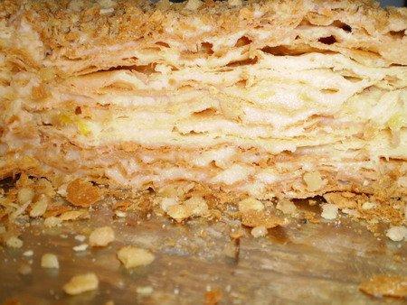 Домашний рецепт торт наполеон видео рецепт