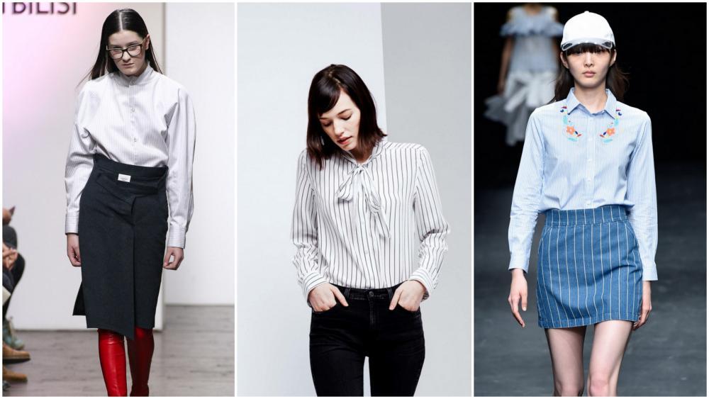 Модные Блузки 2011-2017 Офисный Стиль