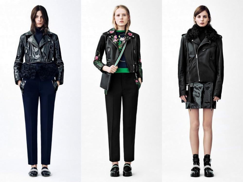 кожаные куртки осень 2016