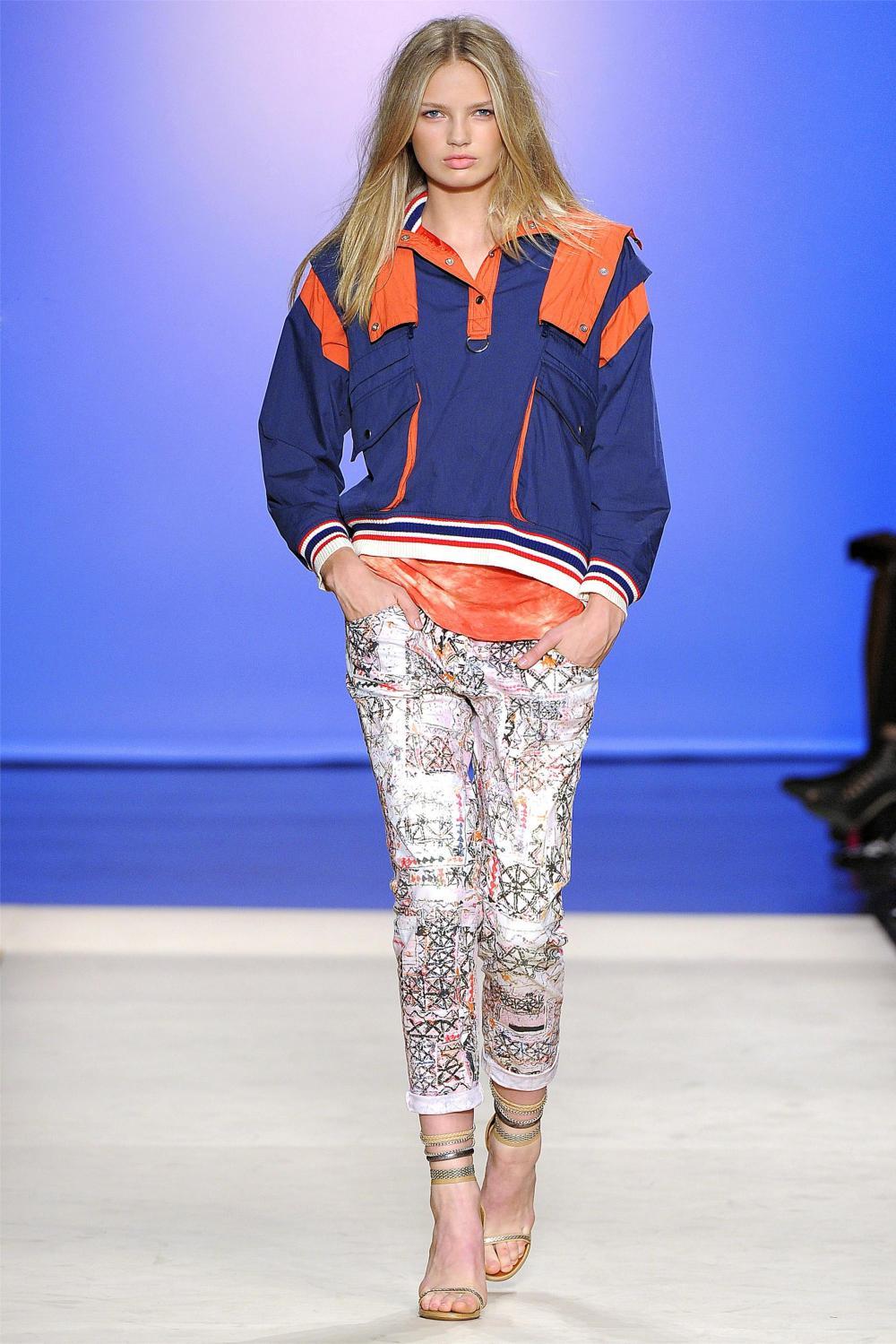Sporty fashion trend 2018