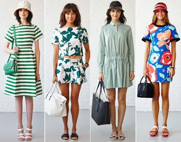 Женские сарафаны и платья для лета