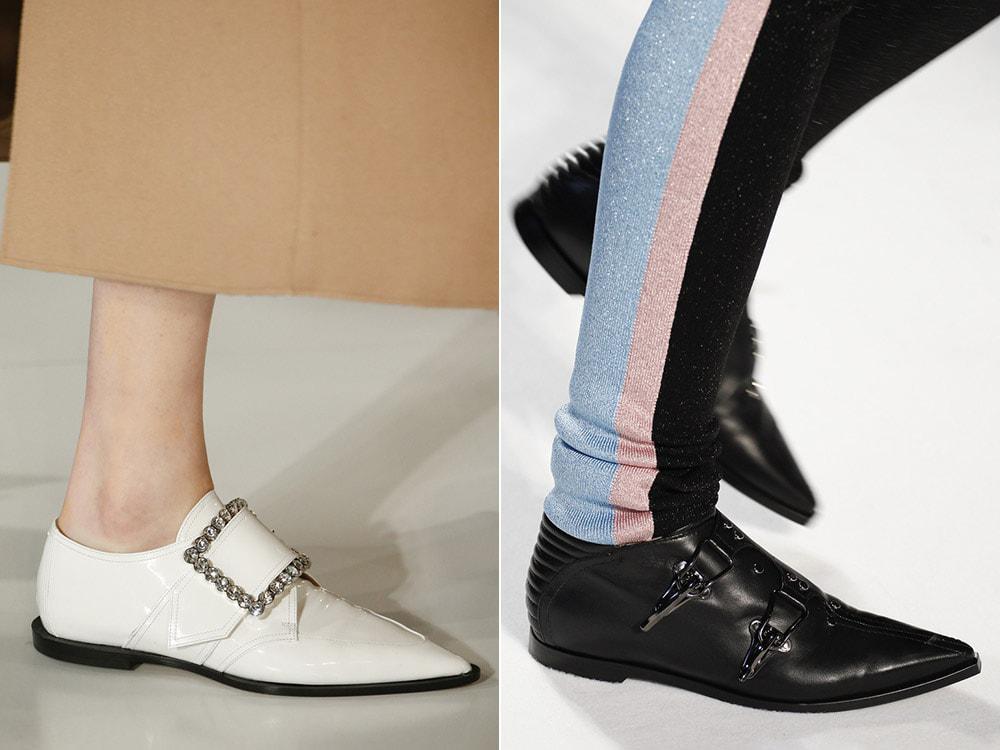 какие обувь в моде в 2017