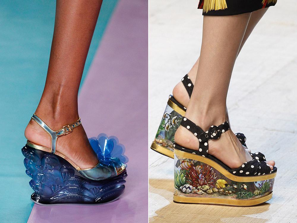 Модная обувь на лето 2017