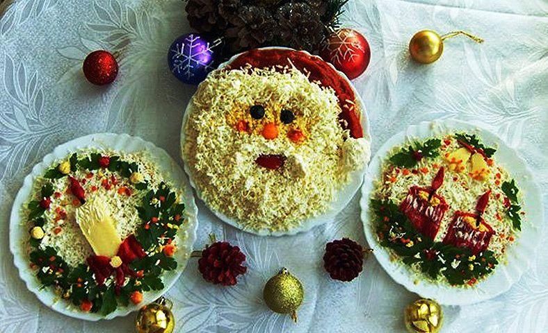 Очень вкусные салаты на новый год с фото и рецептами