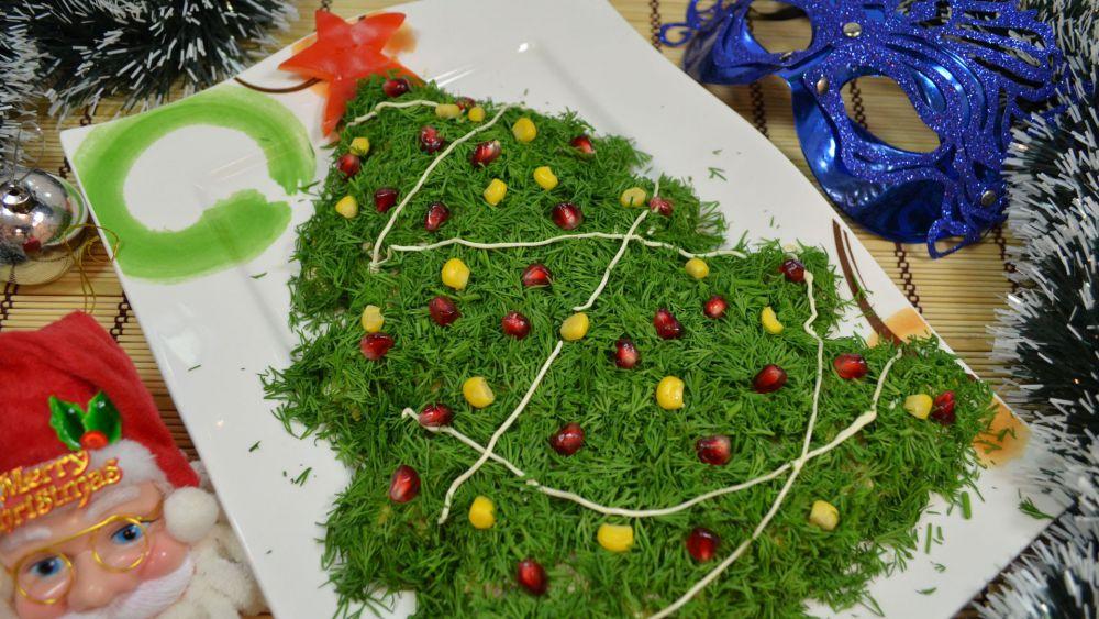 Рецепты новогодних салатов вкусных и простых