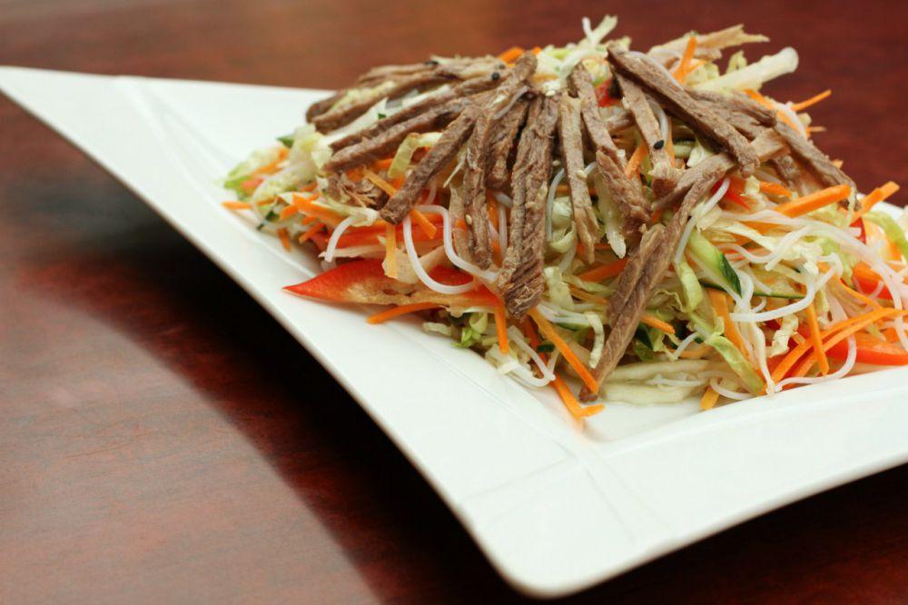 салат из говядины рецепт с фото на новый год