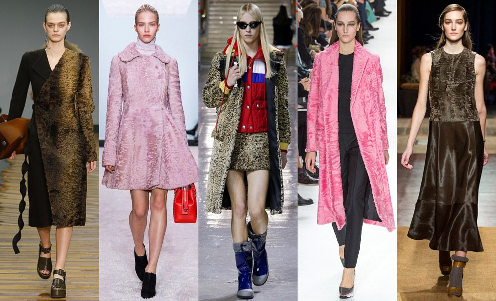 мода осень зима 2015 верхняя одежда