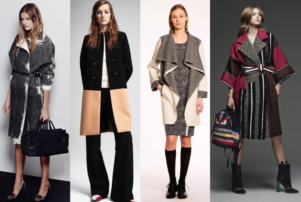 модные фото пальто