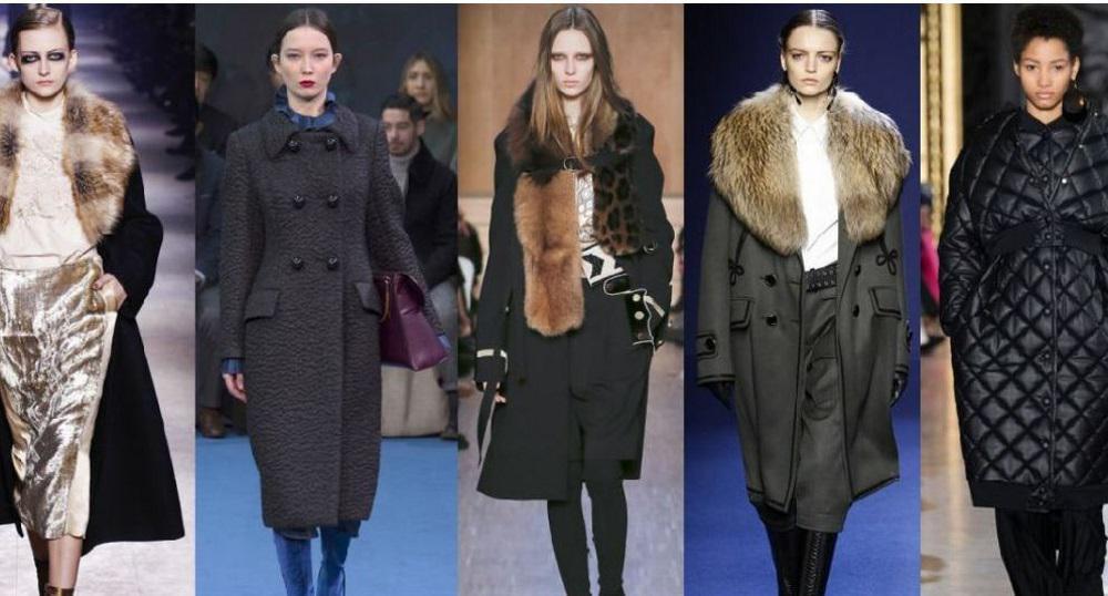 Модные зимние пальто 2017 женские