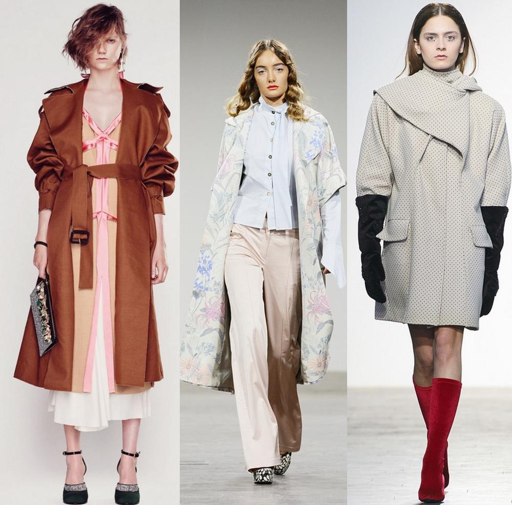 Модные коллекции пальто 2017
