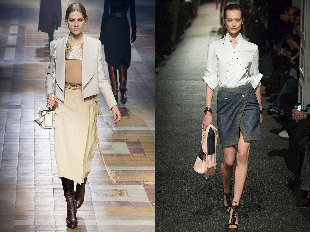 Модные модели юбок 2016 года