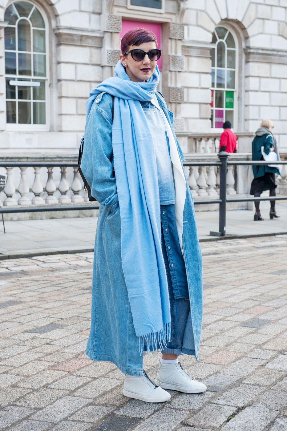 уличная мода осень-зима 2019-2016