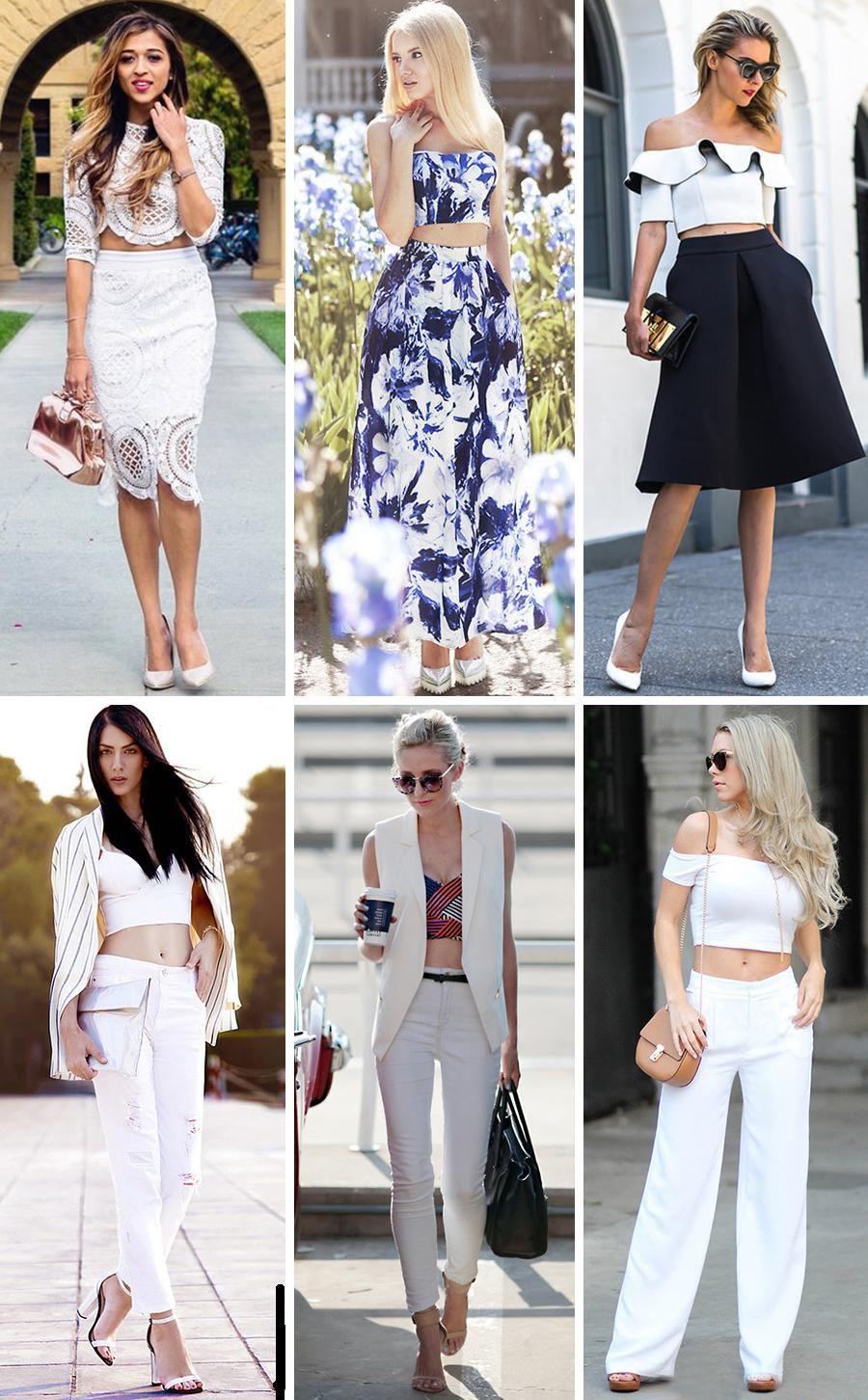 Женская повседневная мода одежды весна 2017
