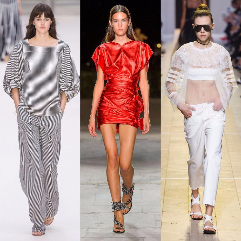 Мода лета 2018 для женщин фото