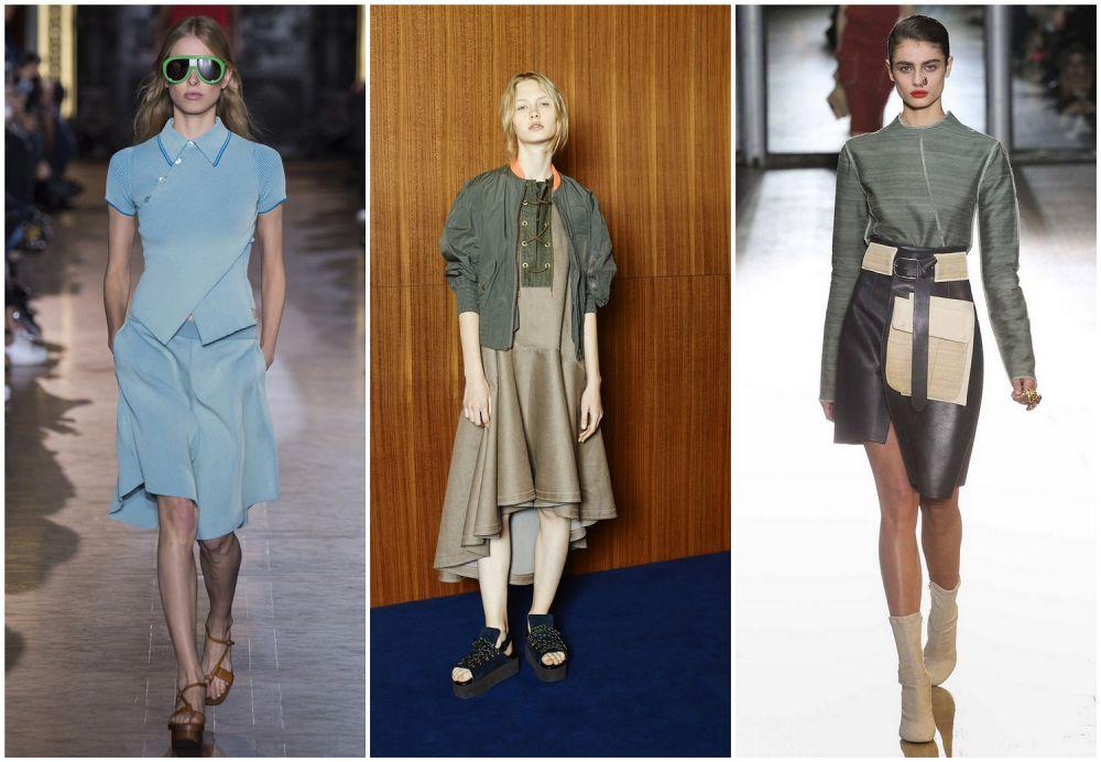 Ассиметричные модели юбки