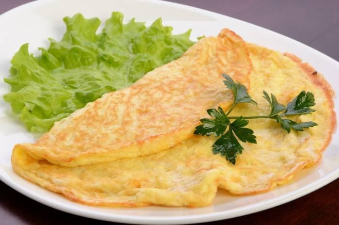 как приготовить омлет чтобы мужчине на завтрак