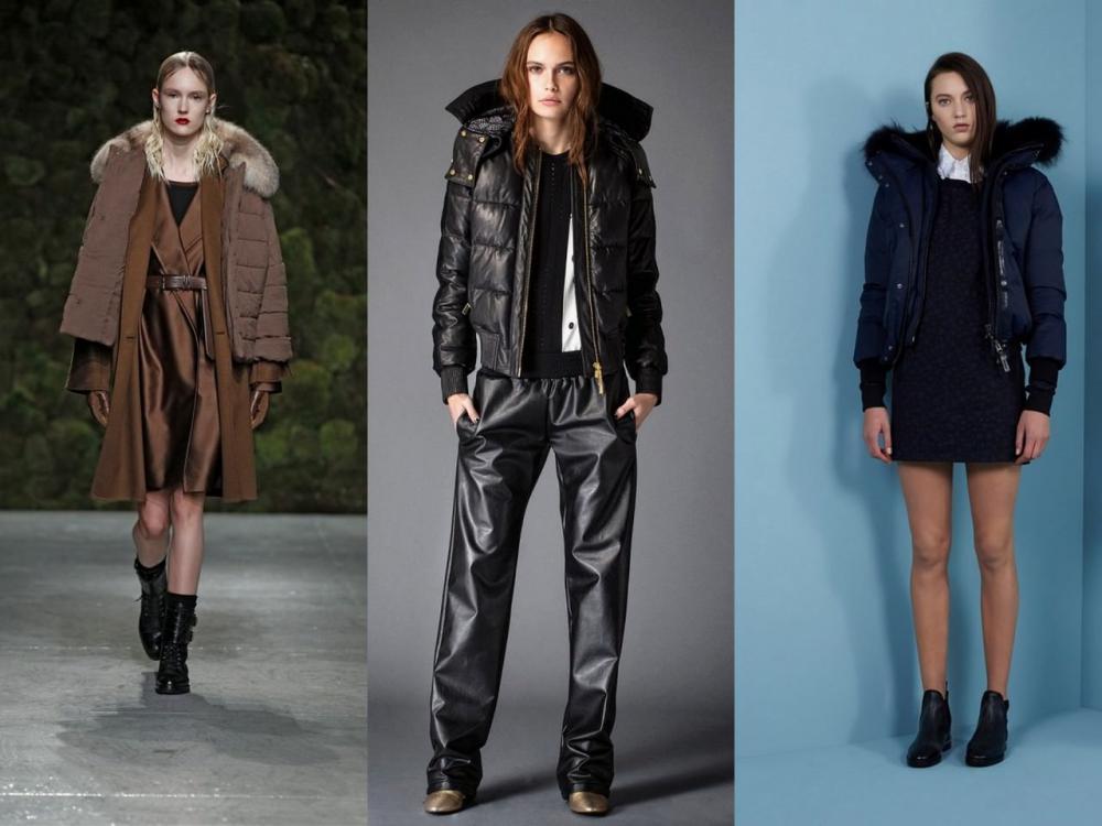 зимние куртки 2017 женские