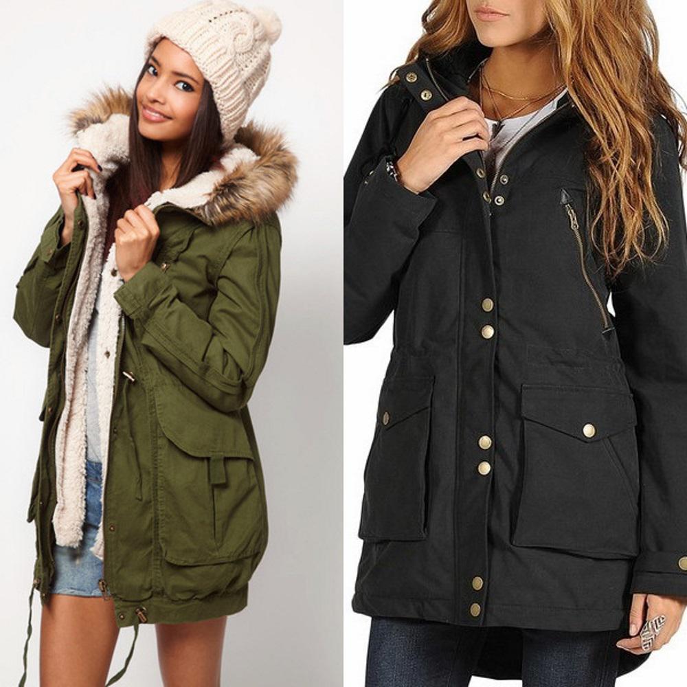 модные зимние женские куртки в 2017 году