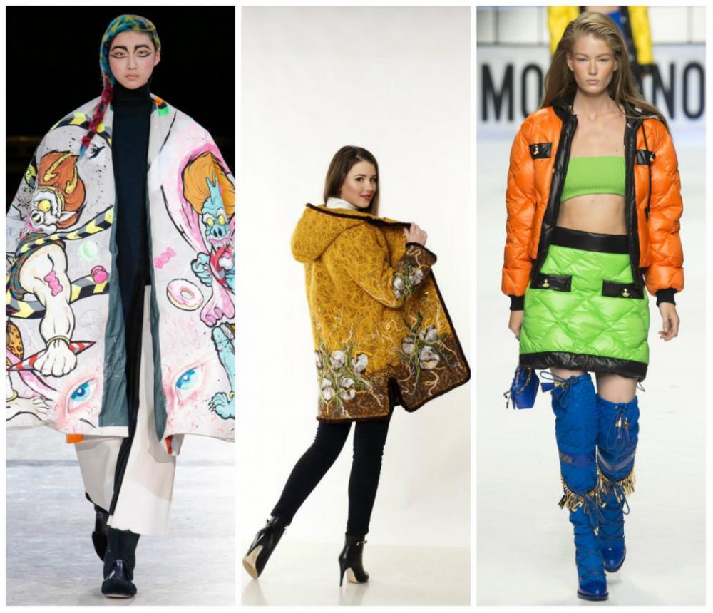 зимние женские куртки 2017
