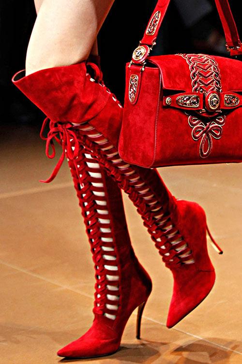 2014 | Обувь осень-зима 2014-2015_6 | Versace