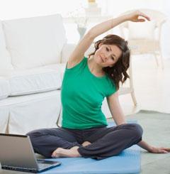Комплекс упражнений для похудения на час