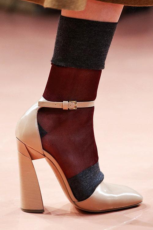 Модная обувь осень зима 2014 2015 блеск и