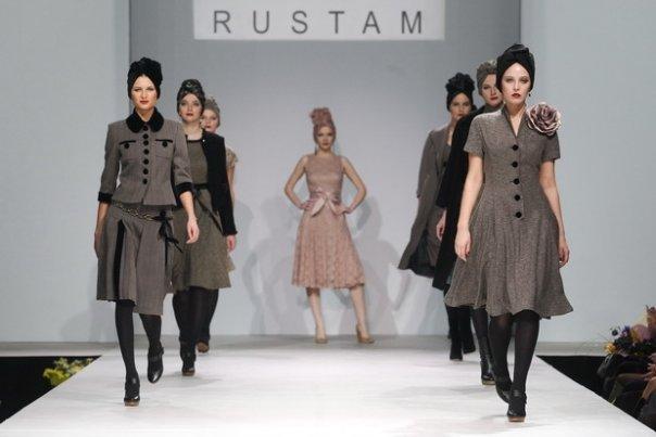 Показ коллекции Parisienne марки RUSTAM на Volvo Fashion week картинки
