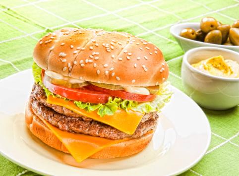Как сделать чизбургер